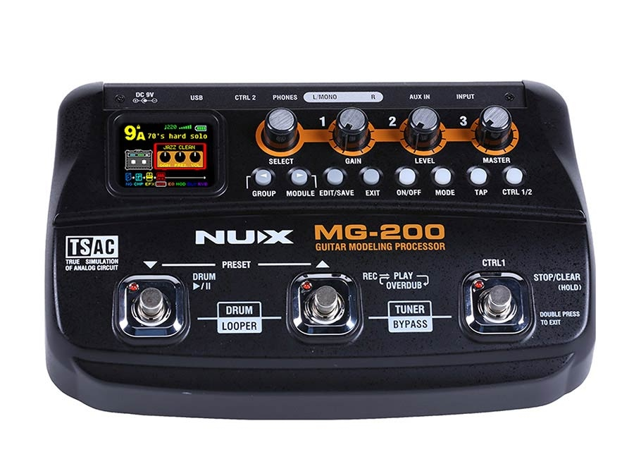 NUX MG-200 amp modeling processor