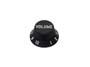 Boston bell knob, Stallion, black, fits both 24 fine (CTS) a