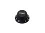 Boston bell knob, Stallion, black, fits both 24 fine (CTS) a