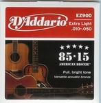 Daddario EZ900 Extra Light American Bronze