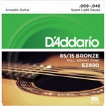 Daddario EZ920 Super  Light American Bronze