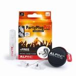 PartyPlug Pro oordoppen, naturel Met gratis reinigingsspray,
