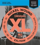D'Addario XL Nickel Round Wound EXL-110W