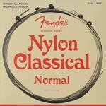 Fender  clear & silver F-130