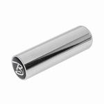 metal botteleneck, 22,8mm., chrome