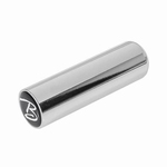 metal botteleneck, 22,8mm., chrome