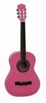 Gomez 034 1/2 klassieke gitaar zuurstokroze