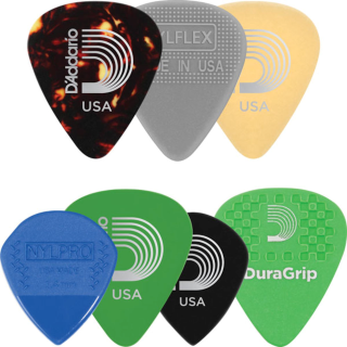 Daddario varia pack plectrum, medium