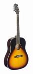 Stagg western gitaar sunburst