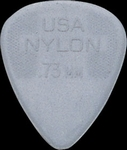 Dunlop nylon plectrum 0,73 mm.