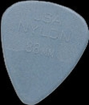 Dunlop nylon plectrum 0,88 mm.