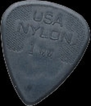 Dunlop nylon plectrum 1,00 mm.