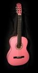 Gomez 001 klassieke gitaar Zuurstokroze