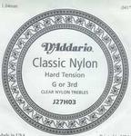 D'addario classic nylon J27H03 losse G snaar