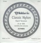D'addario classic nylon J27H05 losse A snaar