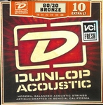Dunlop Accoustic 80/20 bronze Extra Light 010-048