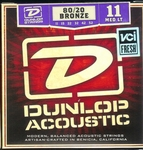 Dunlop Accoustic 80/20 bronze Medium Light 11-52